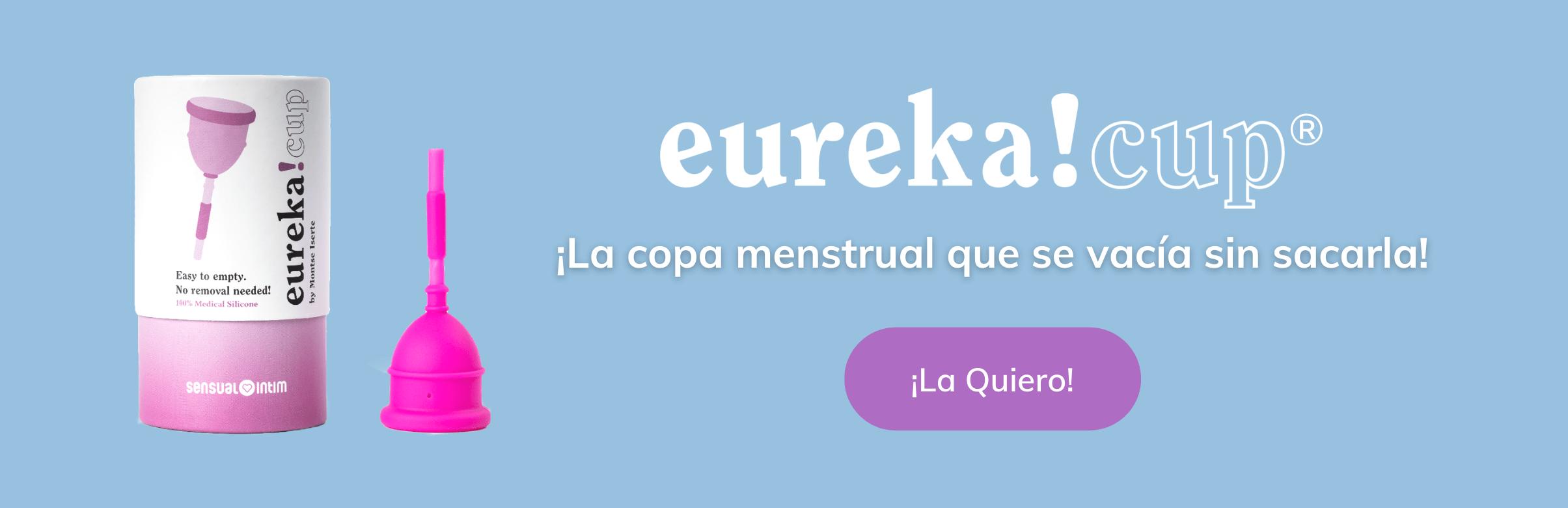 copa menstrual eureka! cup | sensual intim