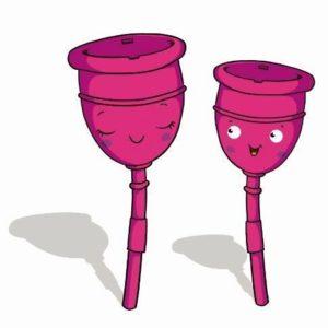 copa menstrual menstruaba