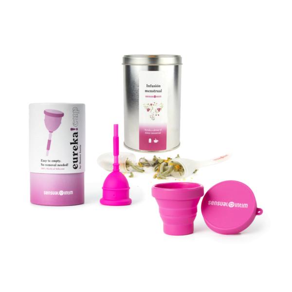 kit menstrual calmante
